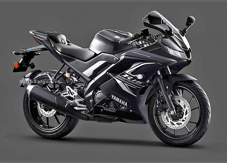 Yamaha R15 vs phiên bản màu đen