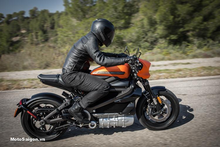 Giá xe mô tô điện Harley-Davidson LiveWire tương đương 685 triệu đồng
