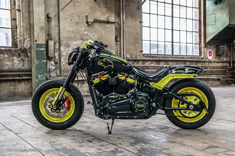 Chiêm ngưỡng bản độ Harley Apollo đoạt giải nhất từ Fat Bob 114