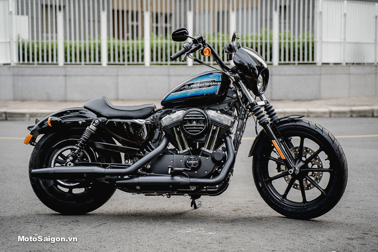 Harley-Davidson Iron 1200 bất ngờ về Việt Nam lộ giá bán