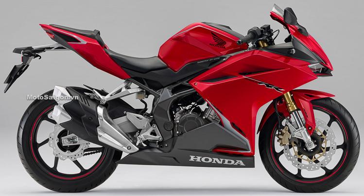 Honda CBR250RR 2019 màu đỏ mới kèm giá bán