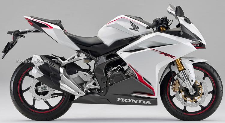 Honda CBR250RR 2019 màu trắng mới kèm giá bán