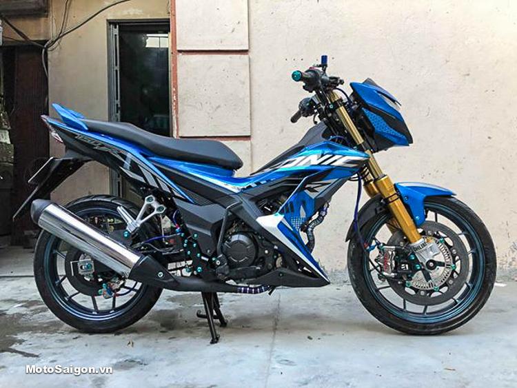 Honda Sonic độ phuộc Nitron full đồ chơi hơn 200 triệu của biker Hải Phòng