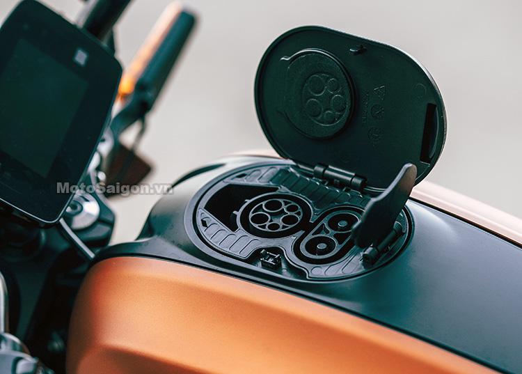 Mô tô điện Harley-Davidson LiveWire.