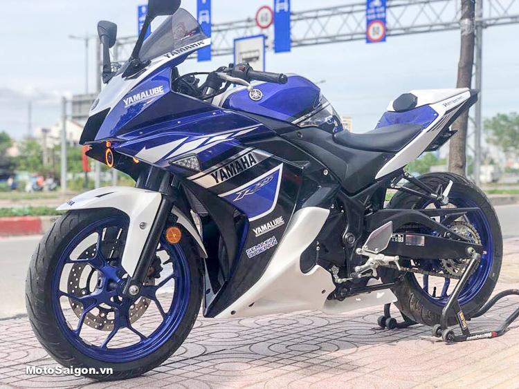 """Yamaha R3 """"lột xác"""" phong cách MotoGP tại Xưởng độ Thưởng Motor"""