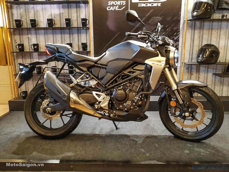 Giá xe Honda CB300R 2019 được công bố tại Ấn Độ