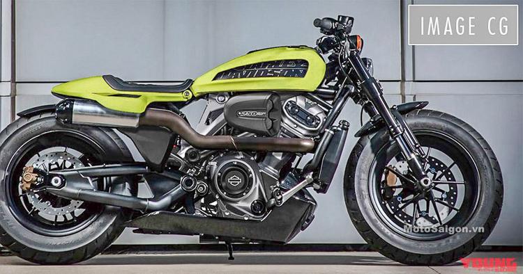 Rò rỉ hình ảnh Harley-Davidson XR250 và 250 Custom hoàn toàn mới sắp trình làng
