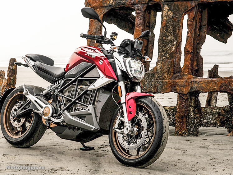 Zero SR/F mẫu Naked-bike sử dụng động cơ điện giá hơn 500 triệu đồng