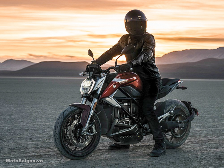 Zero SR/ F mẫu Naked-bike sử dụng động cơ điện giá hơn 500 triệu đồng
