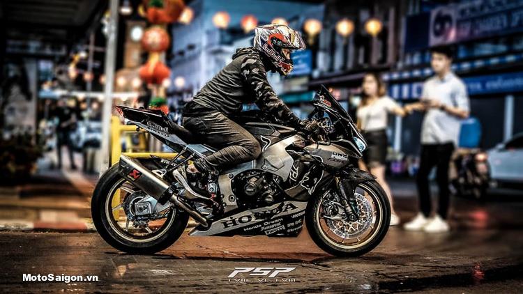 """Honda CBR1000RR Redbull """"Bò Đen"""" độ cực khủng tại Thái Lan"""