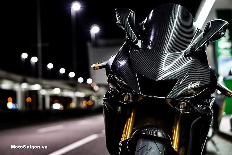 Yamaha R6 Full Carbon đẹp từng chi tiết lộ giá bán tại Việt Nam