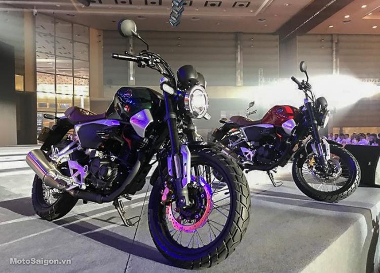 Honda CB190SS 2019 phong cách Cafe hoàn toàn mới trình làng