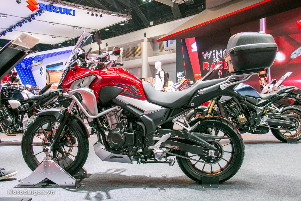 Honda CB500X 2019 giá bán 188 triệu lên full đồ chơi đi tour