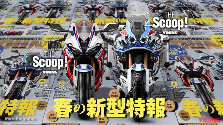 Lộ diện Honda CBR1000RRR (Triple R) 220 mã lực sắp trình làng?