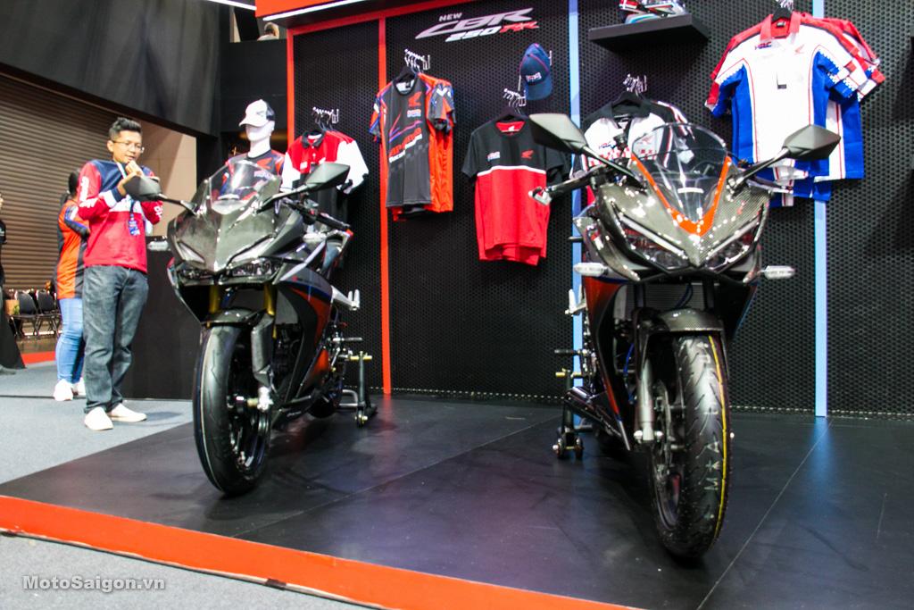 Ngắm bộ đôi Honda CBR150R CBR250RR Full Carbon cực chất từ H2C