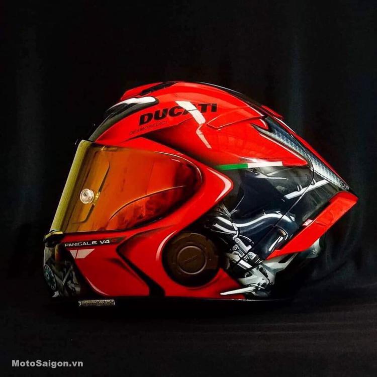 Nón bảo hiểm thiết kế dành riêng cho Ducati Panigale V4
