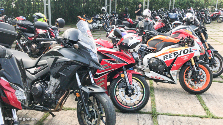 Honda Biker Day 2019 khởi hành 200 xe Moto khuấy động Phan Thiết