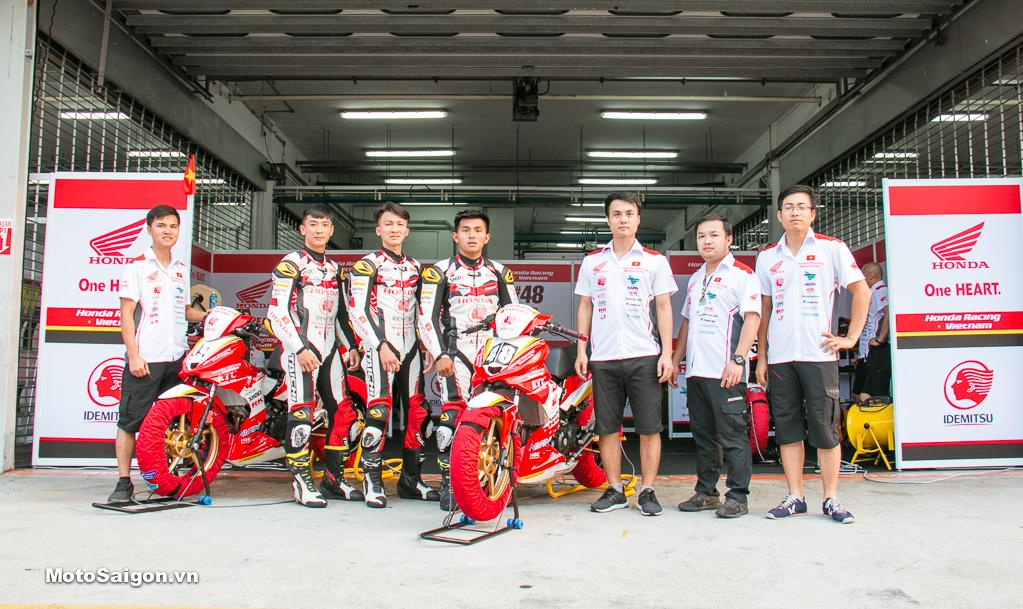 Honda Racing Team tại Giải đua xe ARRC 2019 - Sepang International Circuit - Malaysia