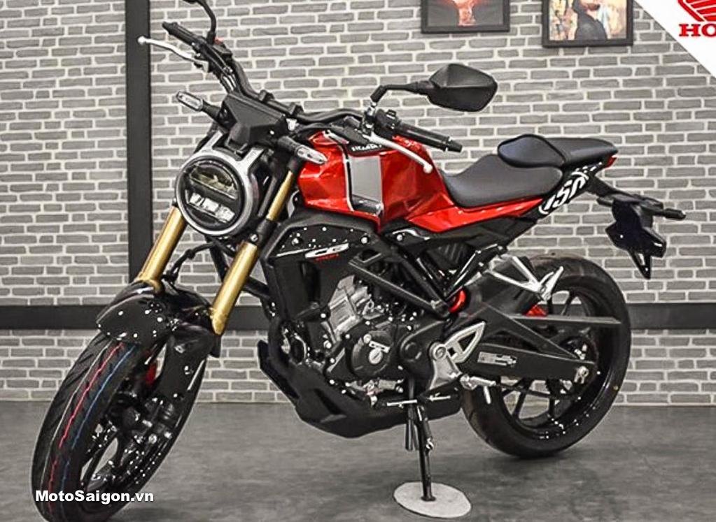 Honda CB150R sắp được bán chính hãng tại Việt Nam vào tháng 4