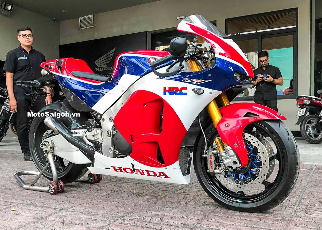 Honda RC213V-S phiên bản thương mại của siêu xe đua giải MotoGP RC213V