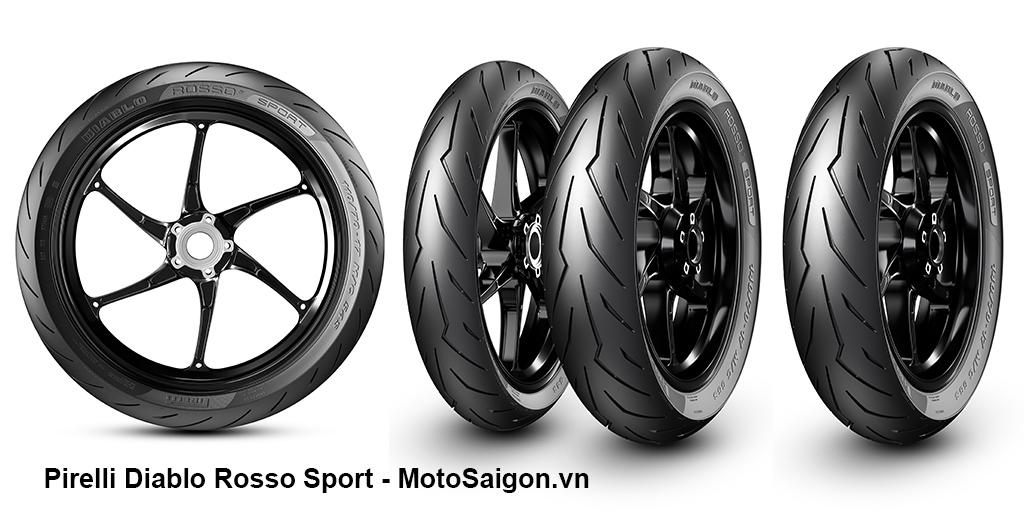 Lốp xe Pirelli Diablo Rosso Sport