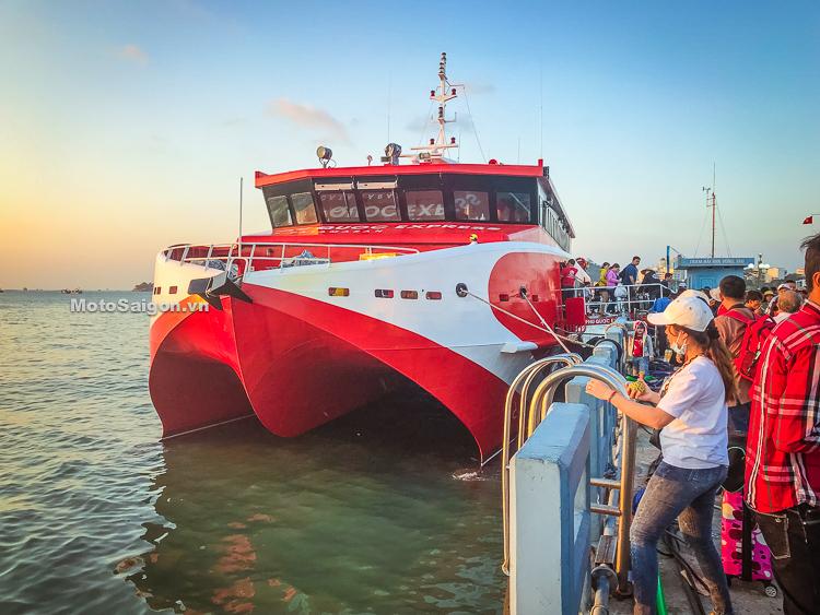 Tàu cao tốc Côn Đảo Express tuyến Vũng Tàu-Côn Đảo