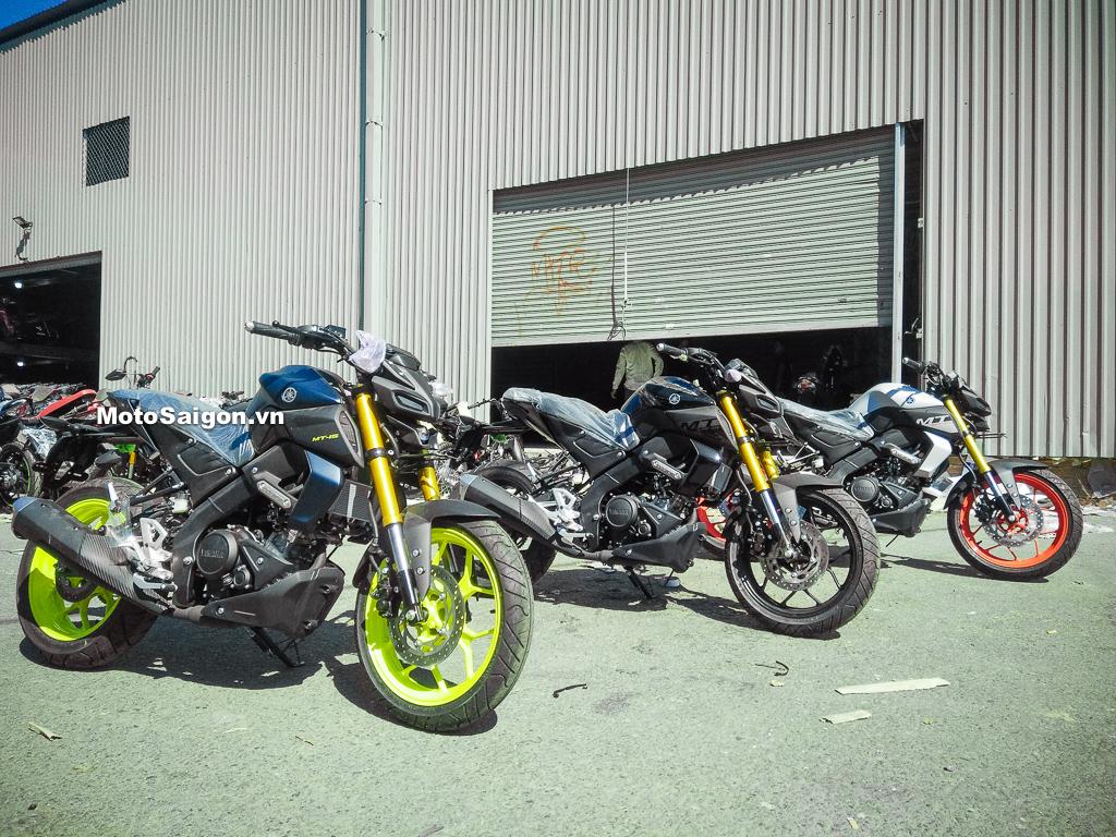 Yamaha MT-15 2019 đã về Việt Nam kèm giá bán