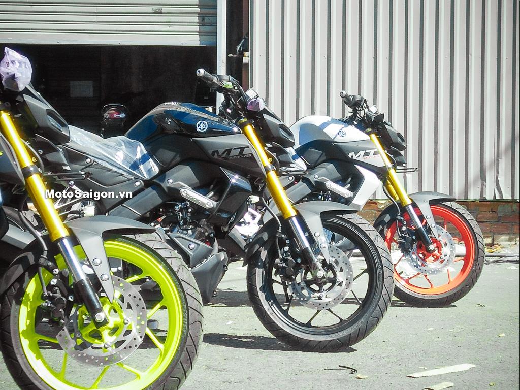 Giá bán Yamaha MT-15 2019 chính thức được công bố