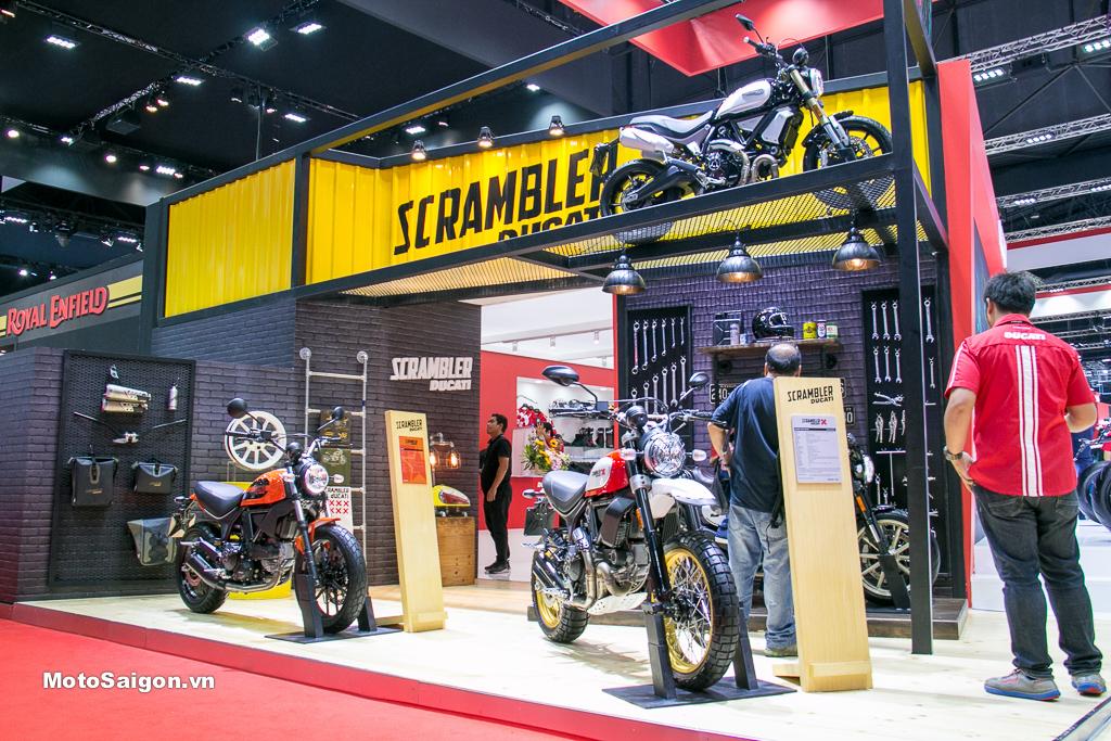 Scrambler 1100 2019 cùng các mẫu xe mới nhất của Ducati tại BIMS