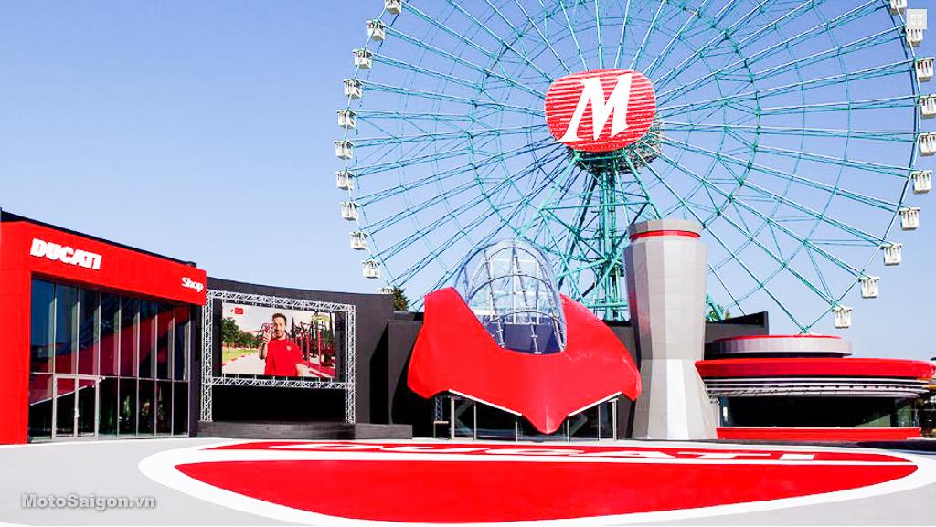 Công viên giải trí Ducati World Mirabilandia chính thức mở cửa