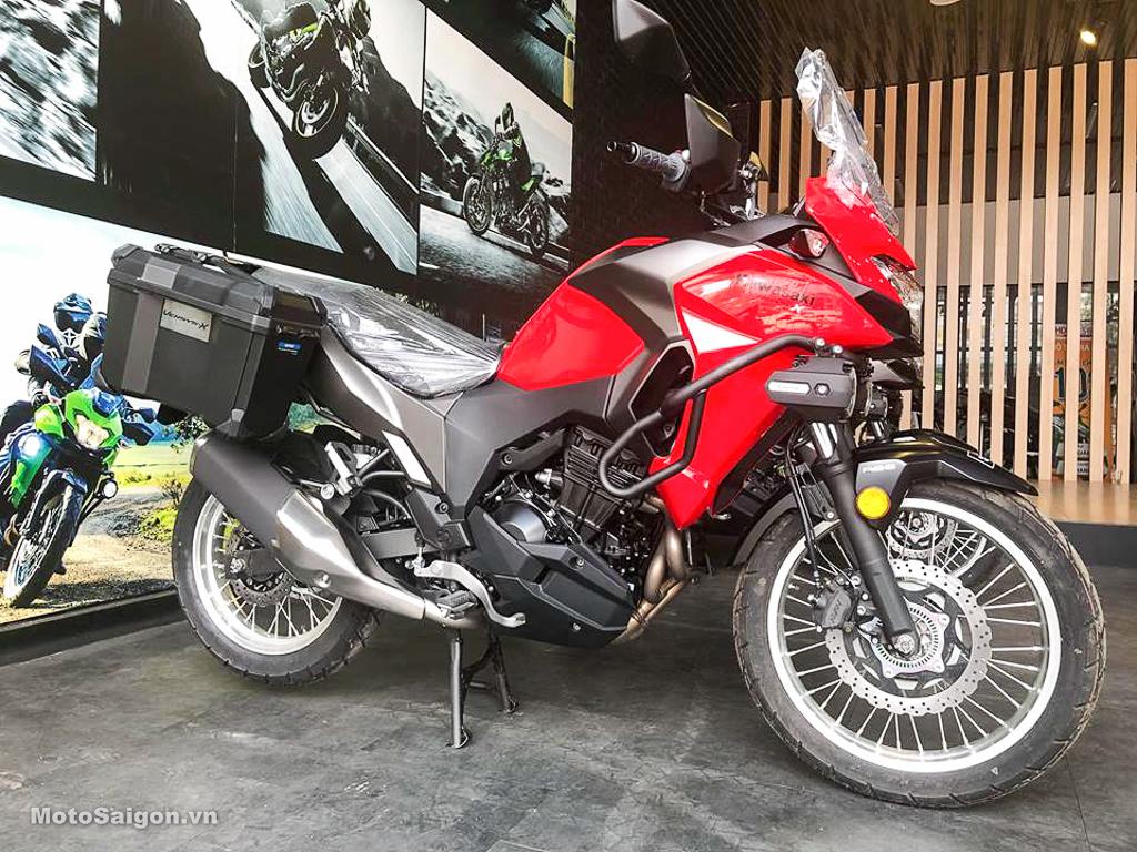 Giá xe Kawasaki Versys X300 ưu đãi chỉ còn 128 triệu đồng