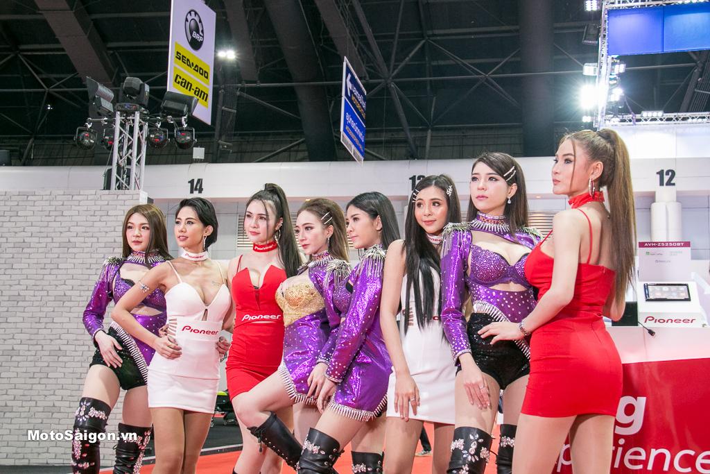 Ngắm dàn Người mẫu xinh đẹp tại Triển lãm Bangkok Motor Show 2019