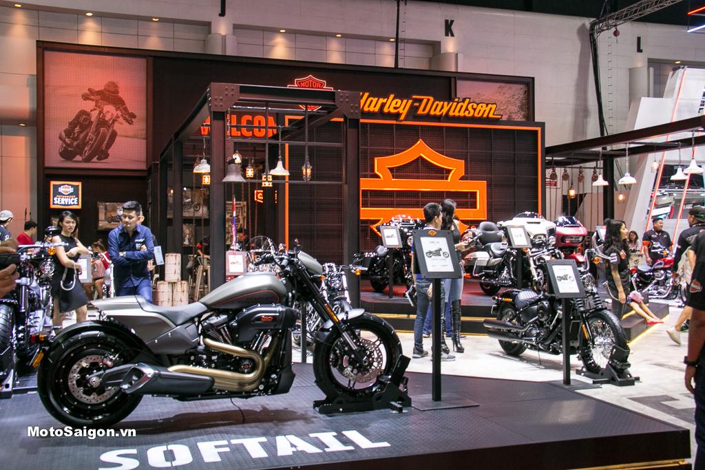 Trải nghiệm & Lái thử xe Harley-Davidson tại Central Saigon - Phú Nhuận