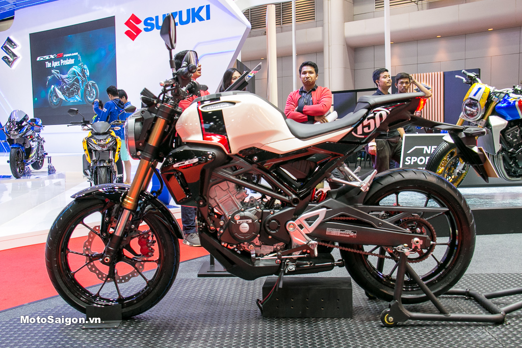 Trên yên Honda CB150R giá bán 105 triệu phiên bản màu mới 2019