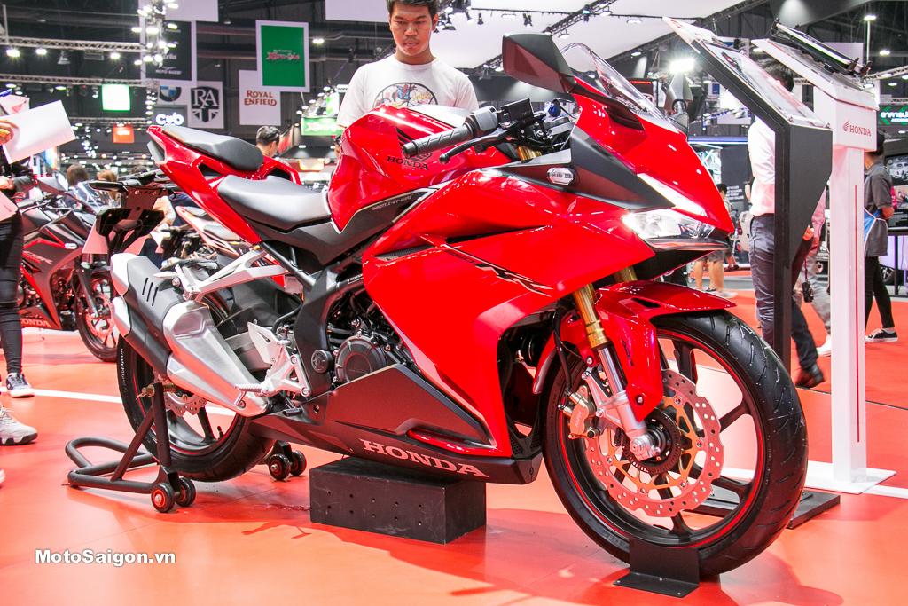 Honda CBR250RR 2019 ra mắt tại Thái Lan, giá bán cao hơn Việt Nam