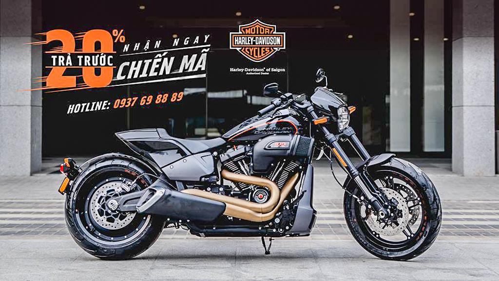 Cầm 70 triệu đồng vào Showroom chạy xe Harley-Davidson về nhà