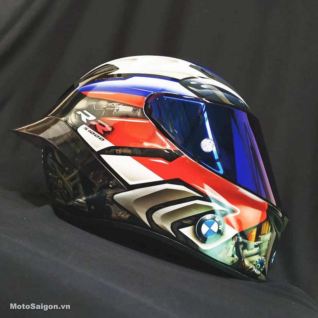 Cận cảnh nón bảo hiểm cực chất dành riêng cho BMW S1000RR