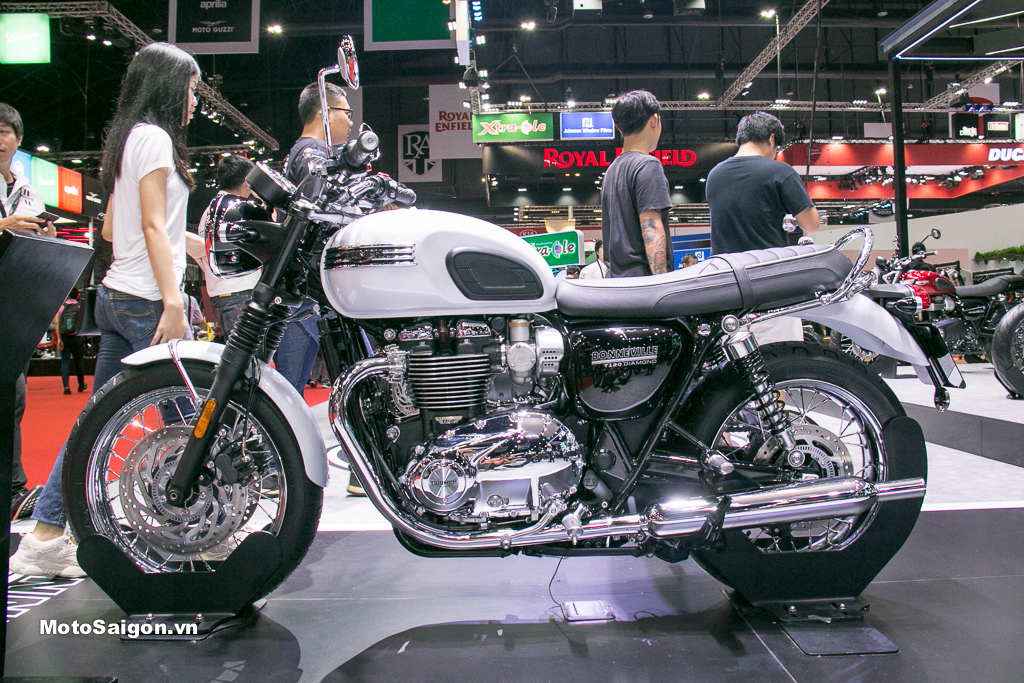 Triumph Bonneville T120 Diamond giá bán 435 triệu đồng bản giới hạn đặc biệt