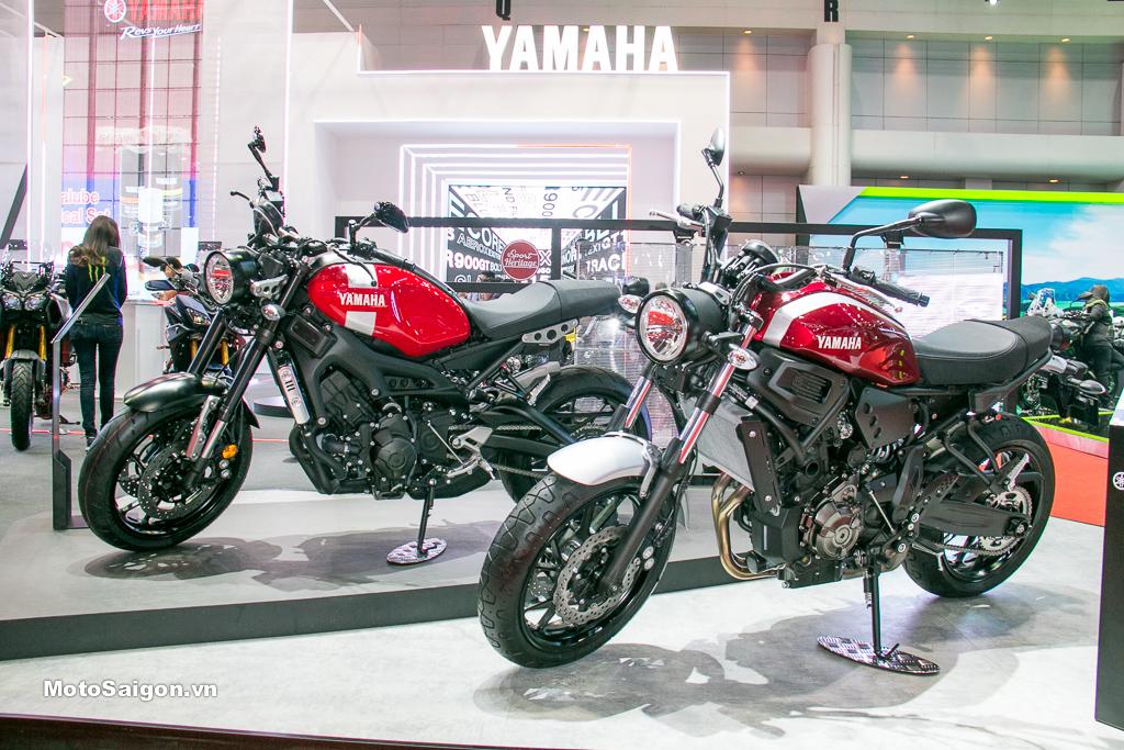 Yamaha XSR700 và Yamaha XSR900 được Motosaigon ghi nhận thực tế tại Tokyo