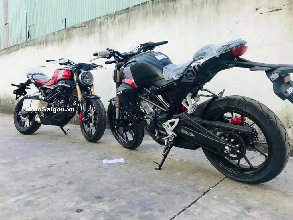CB150R đầu tiên đã về Việt Nam giá bán 105 triệu đồng