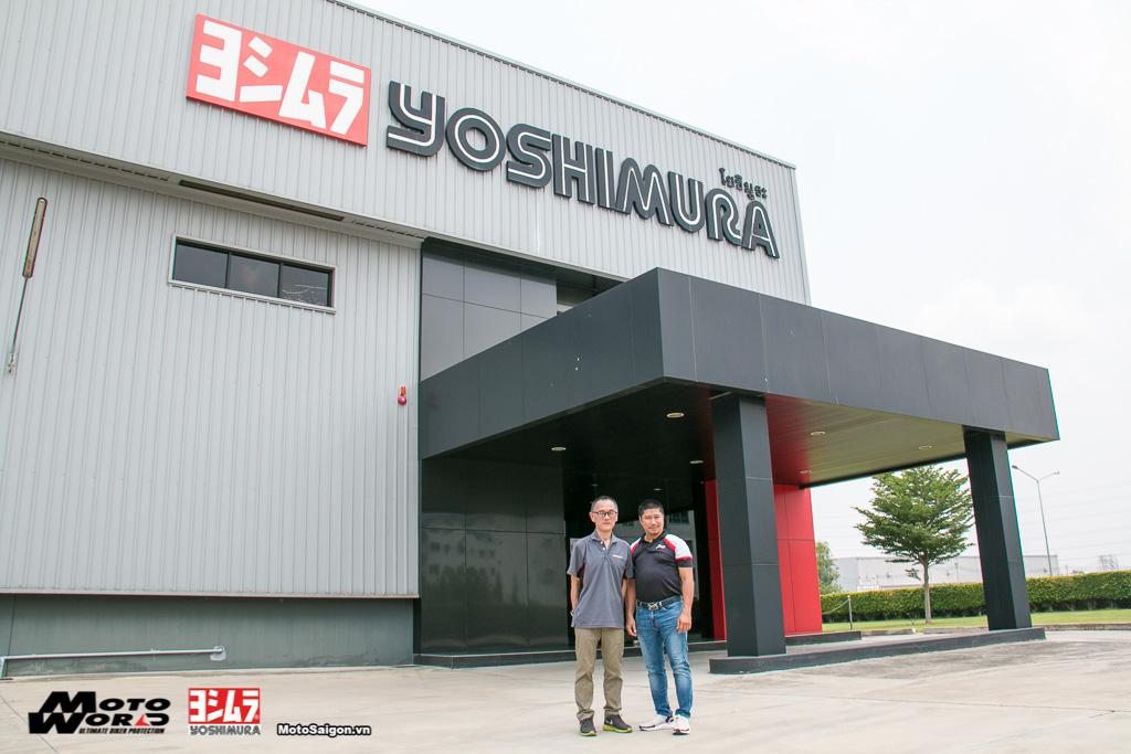 MotoSaigon cùng đại diện Motoworld Việt Nam tham quan nhà máy sản xuất ống xã (pô) Yoshimura tại Thái Lan.
