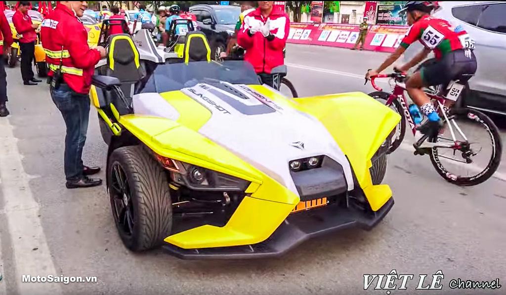 Polaris Slingshot SLR bất ngờ xuất hiện tại Việt Nam giá 2 tỷ đồng