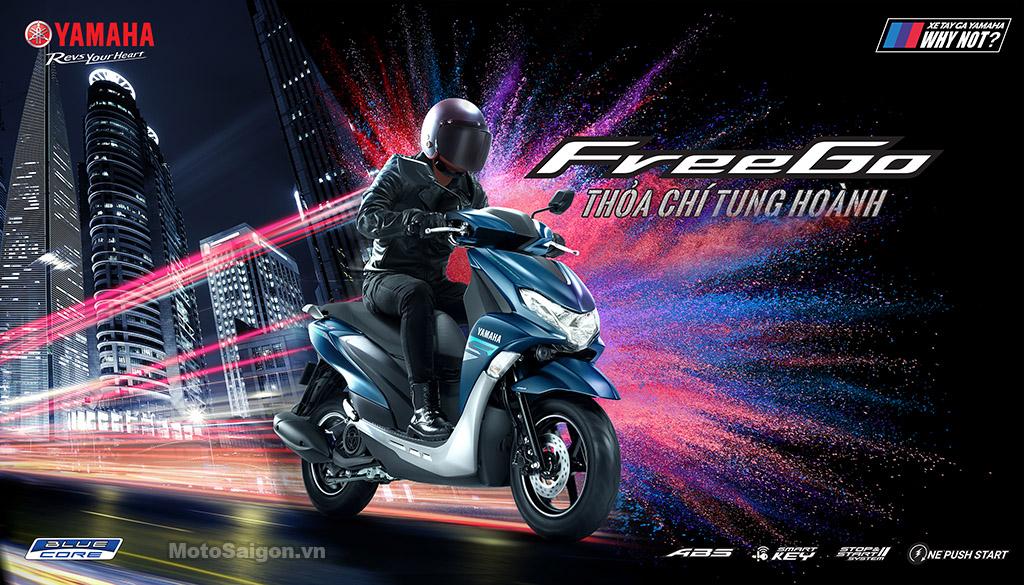 Giá xe Yamaha FreeGo 125 chính thức được công bố tại Việt Nam