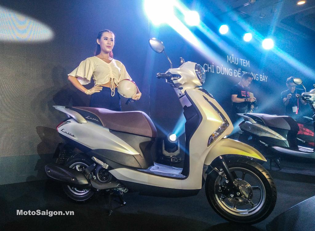 Giá xe Yamaha Latte màu trắng