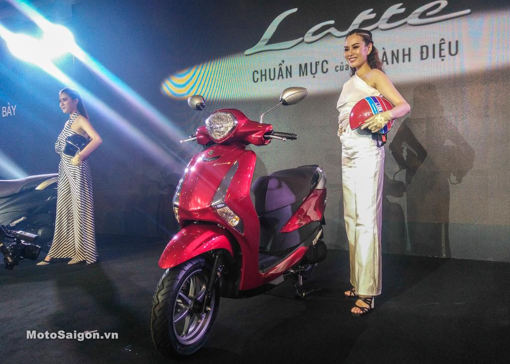 Giá xe Yamaha Latte màu đỏ