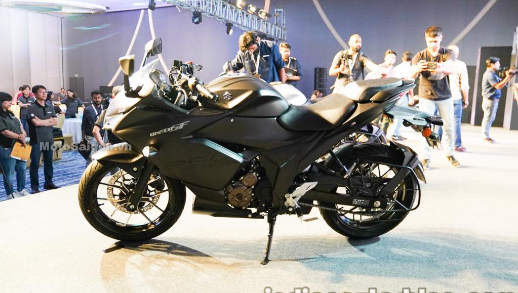 Giá xe Suzuki Gixxer SF 250 57 triệu cạnh tranh Honda CBR250RR