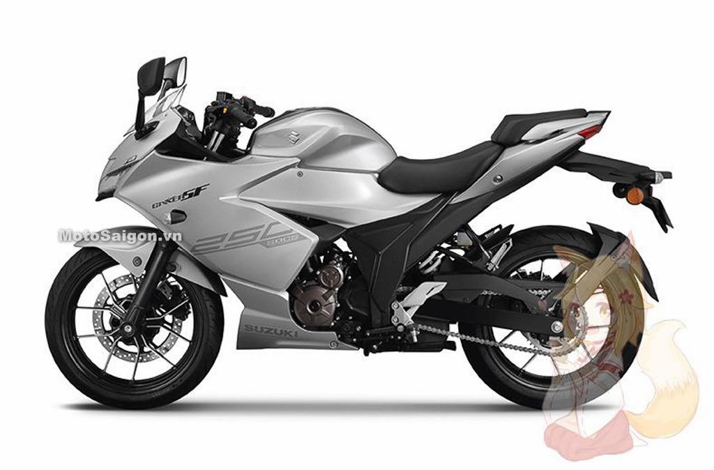 Suzuki Gixxer SF250 sẽ chính thức ra mắt vào hôm nay