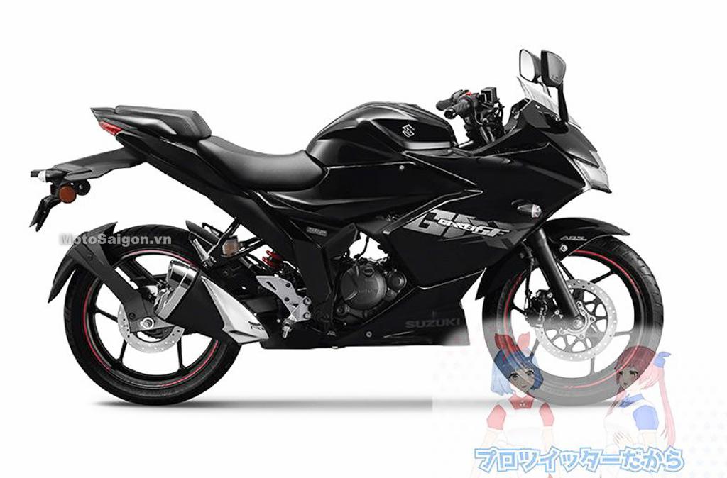 Suzuki Gixxer SF250 màu đen