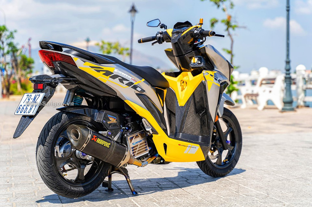 Honda Vario 150 lên đồ chơi cực chất của Biker Nha Trang