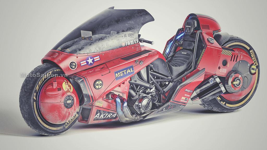 AKIRA Bike bản độ kinh điển theo Series phim Max điên cuồng